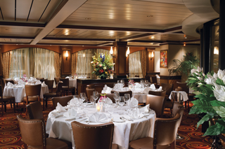 Cagney's Steakhouse on Norwegian Star