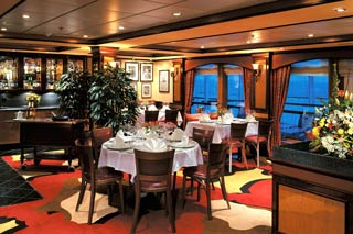 Cagney's Steakhouse on Norwegian Dawn