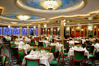 Venetian Main Dining Room on Norwegian Dawn