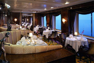 Cagney's Restaurant on Norwegian Sky