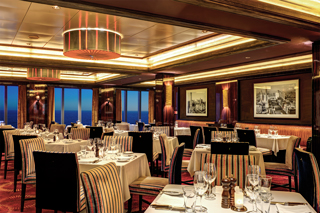 Cagney's Steakhouse on Norwegian Epic