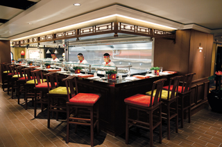Shanghai's Noodle Bar on Norwegian Epic