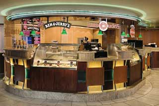 Ben & Jerry's Ice Cream on Enchantment of the Seas