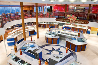 Windjammer Café on Majesty of the Seas