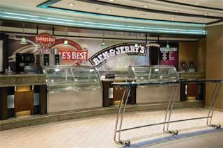 Ben & Jerry's Ice Cream Shop on Monarch of the Seas
