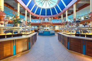 Windjammer Café on Monarch of the Seas