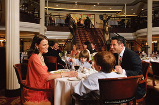 My Family Time Dining on Splendour of the Seas