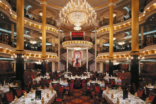 Main Dining Room (Carmen, La Boheme & Magic Flute) on Voyager of the Seas