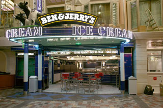 Ben & Jerry's Ice Cream on Vision of the Seas