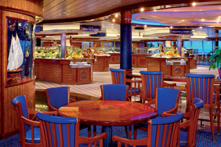 Windjammer Café on Jewel of the Seas