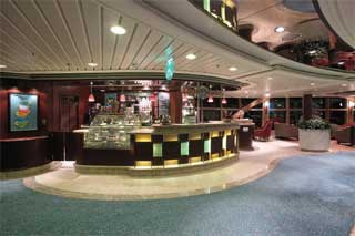 Café Latte-tudes on Jewel of the Seas
