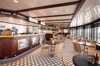 Seaview Cafe on Jewel of the Seas
