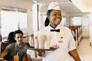Johnny Rockets on Freedom of the Seas
