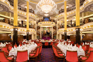 Main Dining Room (Galileo, Isaac & Leonardo) on Freedom of the Seas