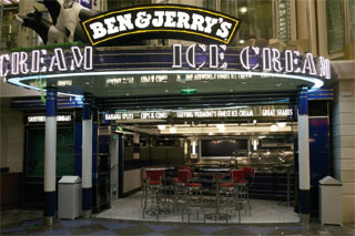 Ben & Jerry's Ice Cream on Liberty of the Seas