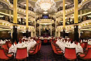 Main Dining Room (Botticelli, Michelangelo & Rembrandt) on Liberty of the Seas