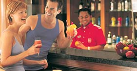 Barong Juice Bar on Norwegian Dawn