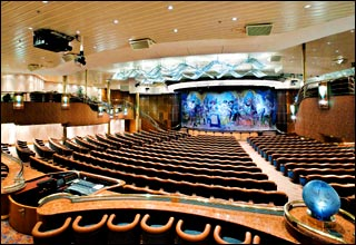 Theatre on Splendour of the Seas