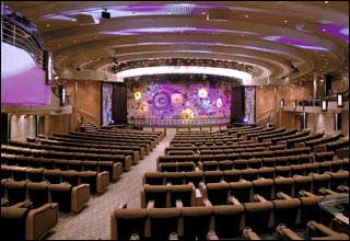 Palladium Theater on Grandeur of the Seas