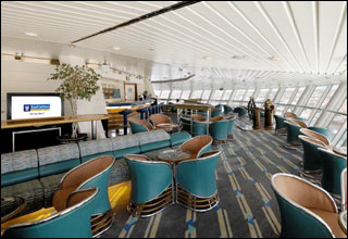 Viking Crown Lounge on Vision of the Seas