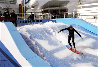 Flowrider on Oasis of the Seas