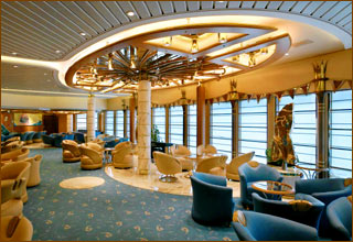 Lounge on Vision of the Seas