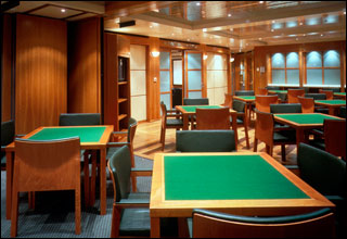 Card Room on Carnival Dream