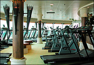 Day Spa and Fitness Center on Voyager of the Seas