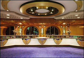 Guest Services and Explorations! on Voyager of the Seas