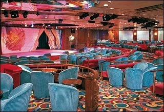 Queen's Lounge on Prinsendam