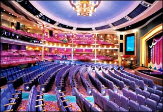 Theater on Voyager of the Seas