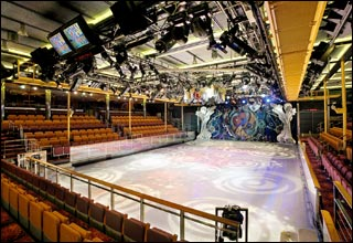 Center Ice Rink on Voyager of the Seas