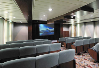 Screening Room on Explorer of the Seas