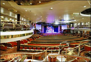 The Chorus Line Lounge on Majesty of the Seas
