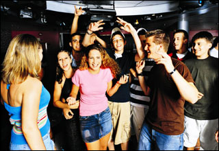 Teen Disco on Splendour of the Seas