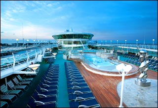 Swimming Pools on Enchantment of the Seas