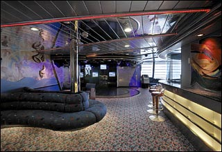 Teen Center on Vision of the Seas