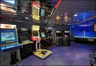 V-Deck Video Games on Enchantment of the Seas