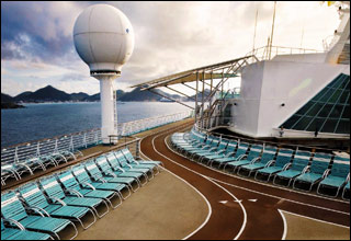 Jogging Track on Voyager of the Seas