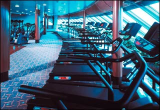 Fitness Center on Celebrity Solstice