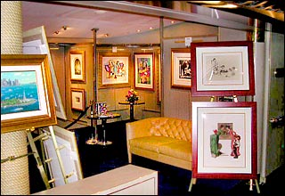 Art Gallery on Prinsendam