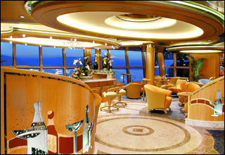 Champagne Bar on Grandeur of the Seas