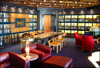 Library on Prinsendam