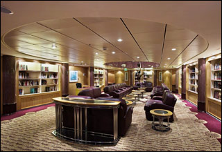 Library on Enchantment of the Seas