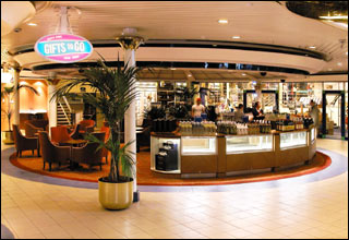 Photo Gallery and Shop on Legend of the Seas