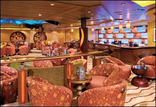 Boleros Lounge on Oasis of the Seas