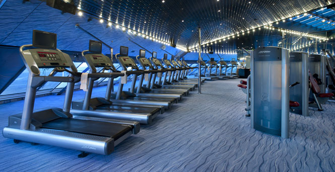 Fitness Studio on Carnival Sunshine