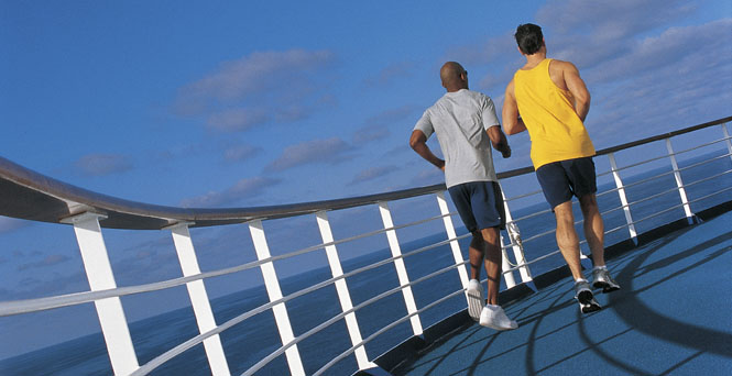 Jogging Track on Carnival Sunshine